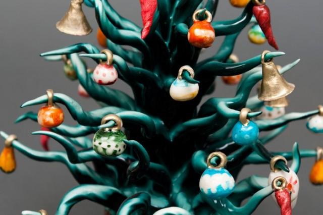 Bomboniere Matrimonio Natalizio : Porcellane di capodimonte albero natale avanguardie
