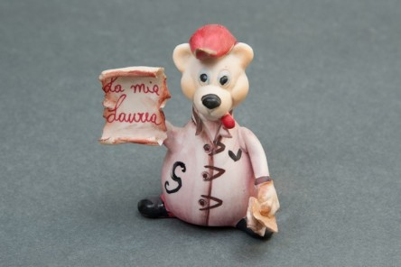 Teddy Figurine