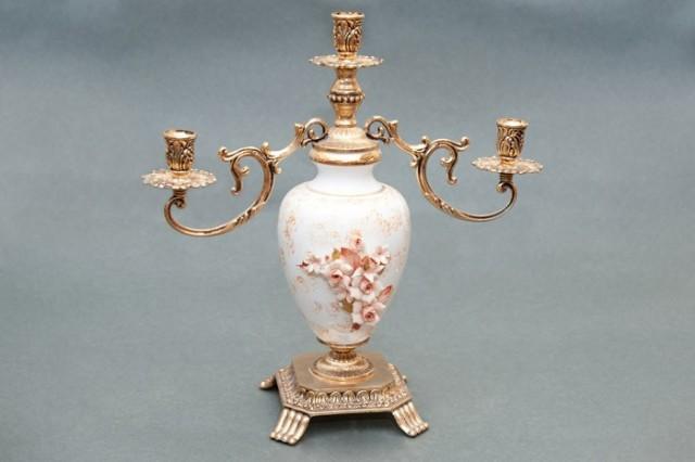Capodimonte porcelain Domitian Chandelier
