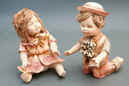 Francis and Margaret Figurines