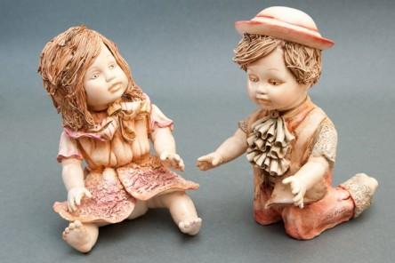 Statuine Francesco e Margherita