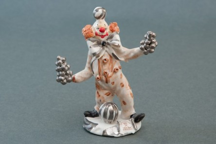 Figaro the Clown Figurine