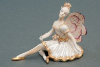 Gold Fairy Statuette