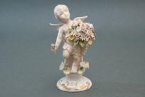 Angel Hermes Statuette