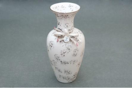 Porcellane di capodimonte vaso silver for Vaso capodimonte