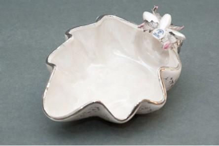 Tridacna Silver Seashell
